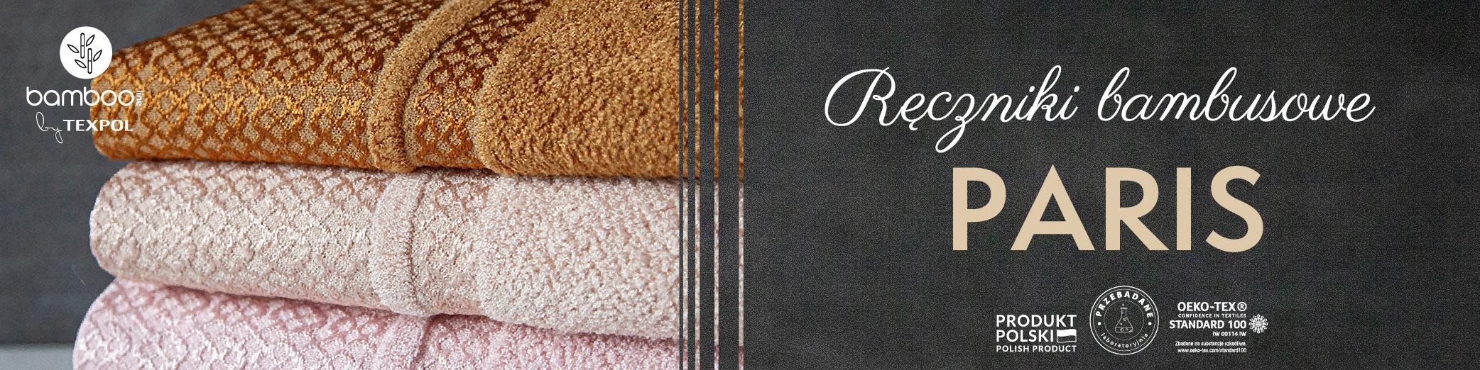 Ręcznik bambusowy PARIS